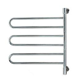 Amba Swivel Wall Mount Plug-In Towel Warmer with 6 Bars