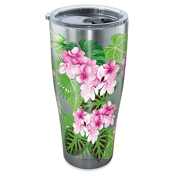 Alternate image 1 for Tervis® Garden Party 30 oz. Stainless Steel Tumbler with Lid