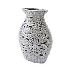 Zuo® Leaves Medium Vase in Grey