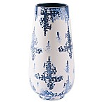 Zuo® Nube Large Vase in Blue/White