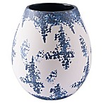 Zuo® Nube Medium Vase in Blue/White