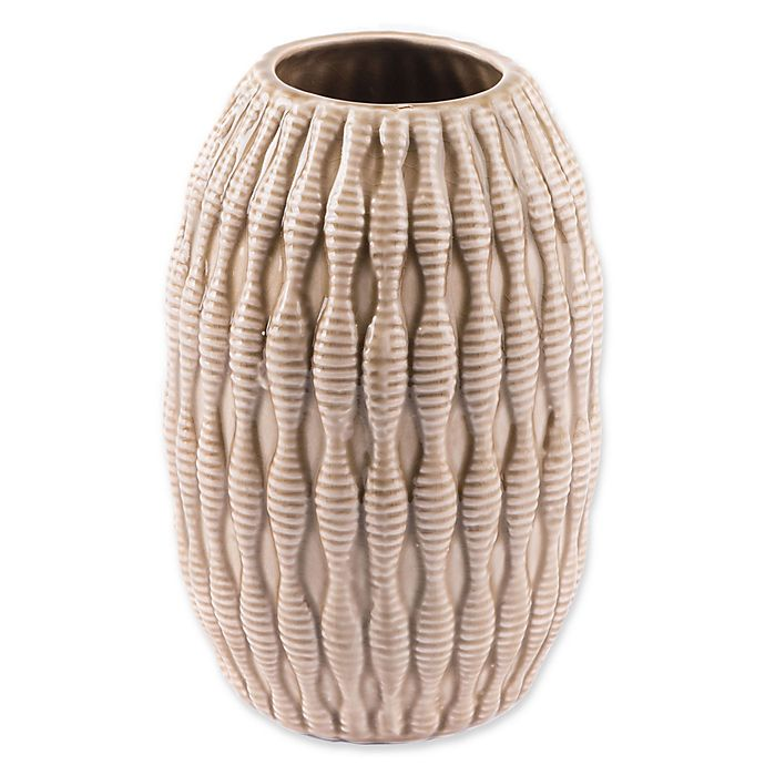 Alternate image 1 for Zuo® Modern Marino Small Vase in Taupe