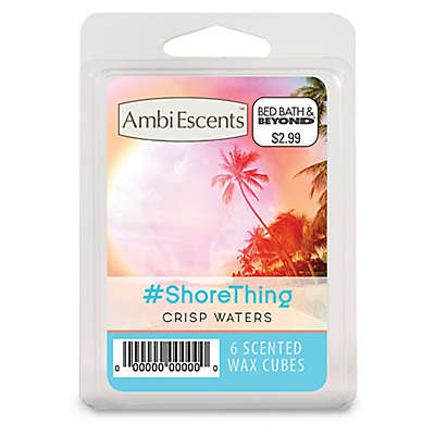 AmbiEscents™ #ShoreThing 6-Pack Scented Wax Cubes