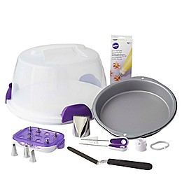 Wilton® Bake, Decorate, Carry and Display Cake Set