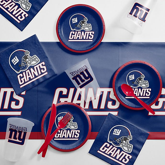 huge discount 6702f 505f8 NFL New York Giants 56-Piece Complete Tailgate Party Kit ...