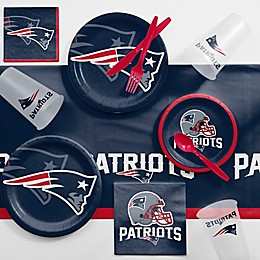 NFL New England Patriots 81-Piece Complete Tailgate Party Kit