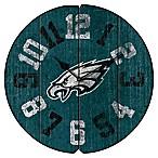 NFL Philadelphia Eagles Vintage Round Wall Clock