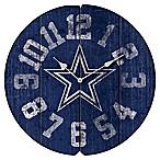 NFL Dallas Cowboys Vintage Round Wall Clock