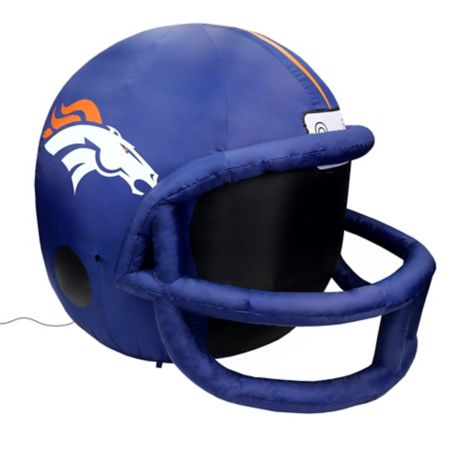NFL Denver Broncos Inflatable Lawn Helmet  Bed Bath  Beyond