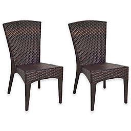 Safavieh New Castle Wicker Side Chairs (Set of 2)
