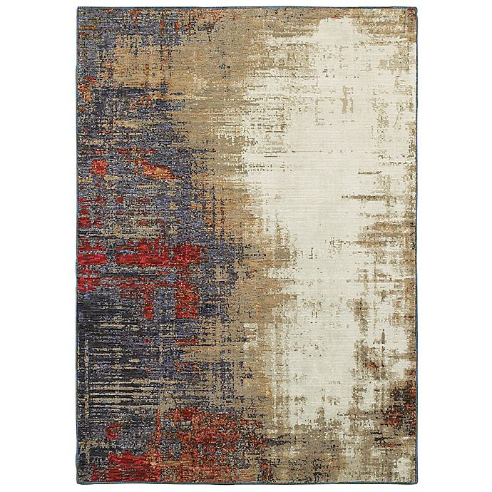 Alternate image 1 for Oriental Weavers Evolution Abstract 7-Foot 10-Inch x 10-Foot 10-Inch Area Rug in Ivory