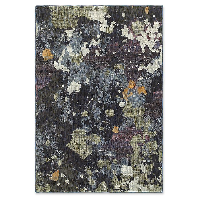 Alternate image 1 for Oriental Weavers Evolution 5-Foot 3-Inch x 7-Foot 3-Inch Area Rug in Navy