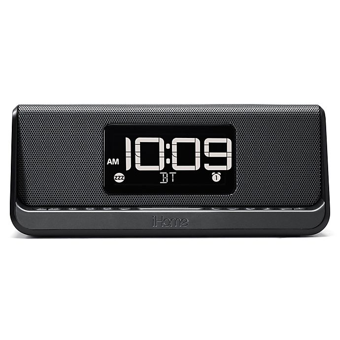 iHome® Dual Alarm Clock with Speakerphone and Charging