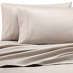 Heartland® HomeGrown™ 500TC Wrinkle-Resistant King Pillowcases in Khaki (Set of 2)