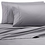 Heartland® Homegrown™ 500-Thread-Count Cotton Wrinkle-Resistant Queen Sheet Set in Grey