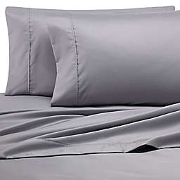 Heartland® Homegrown™ 500-Thread-Count Cotton Wrinkle-Resistant Twin Sheet Set in Grey