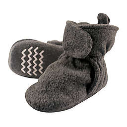 Hudson Baby® Fleece Scooties Sock in Charcoal