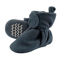 Hudson Baby® Fleece Scooties Sock in Light Blue