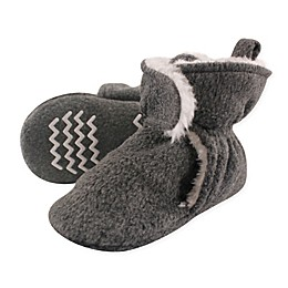 Hudson Baby Sherpa Lined Scooties in Heather Charcoal