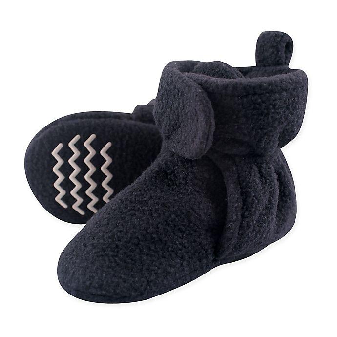 Alternate image 1 for Hudson Baby Size 3T Fleece Scooties in Navy