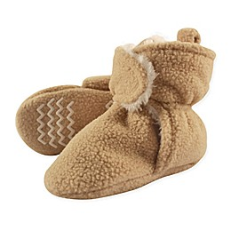 Hudson Baby® Sherpa Lined Scooties with Non-Skid Bottoms in Tan