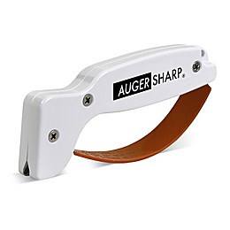 AugerSharp® Ice Auger Sharpener in White/Orange