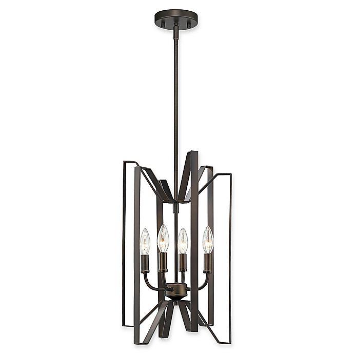 Alternate image 1 for Filament Design Carroll 4-Light Pendant in Bronze