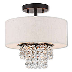 Carlisle 2-Light Semi Flush Pendant Chandelier