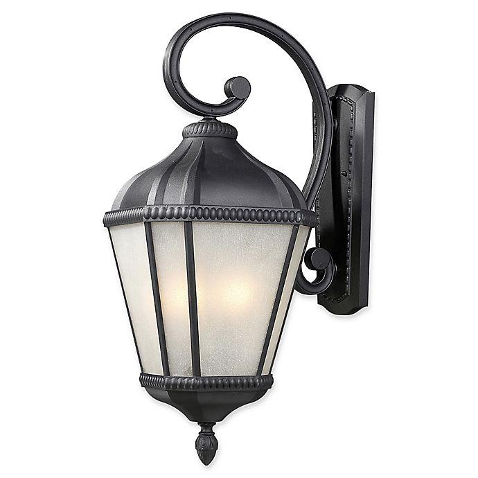 Alternate image 1 for Filament Design Derrick Medium Wall-Mount Outdoor Light in Black