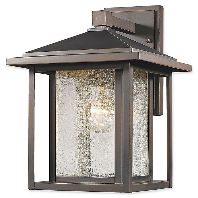 Alternate image 1 for Filament Design Diana 1-Light Outdoor Wall Lantern in Oil Rubbed Bronze