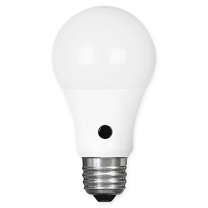 Alternate image 1 for Feit Electric 60-Watt Equivalent Dawn to Dusk Sensor LED Light Bulb