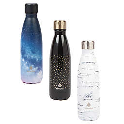 Manna™ Vogue® 17 oz. Double Wall Stainless Steel Bottle Collection