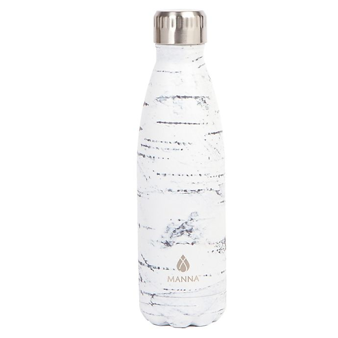 Alternate image 1 for Manna™ Vogue® 17 oz. Double Wall Stainless Steel Bottle in Birch