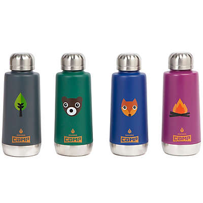 Manna™  Moda Kid's Double Wall Stainless Steel 12 oz. Water Bottle Collection