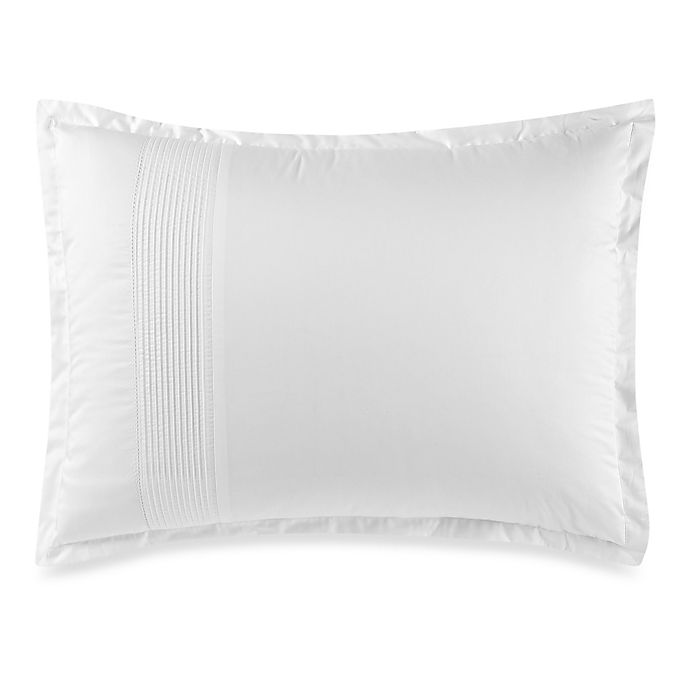Alternate image 1 for Wamsutta® Dream Zone® Dream Bed 400-Thread-Count Standard Pillow Sham in White