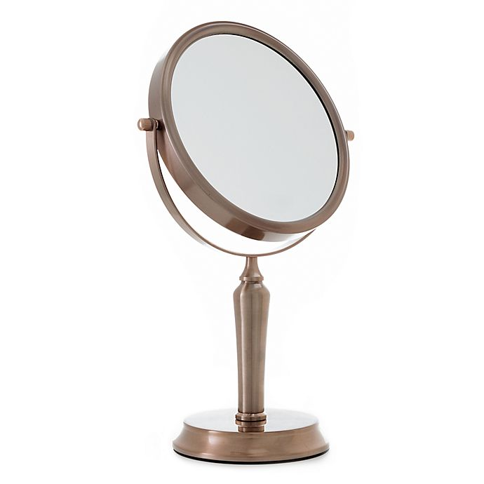 Alternate image 1 for Anaheim 1x/5x 2-Sided Vanity Swivel Mirror
