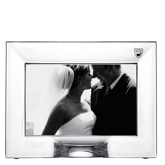 Alternate image 1 for Orrefors Plaza 4-Inch x 6-Inch Picture Frame