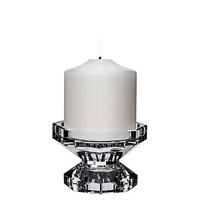 Orrefors Totem Trio 2-Piece Candle Holder in Clear