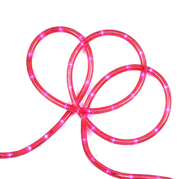 Alternate image 1 for Sienna 18-Foot LED Christmas Rope Light in Pink