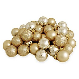 Northlight 60-Pack 2-1/2-Inch Christmas Ball Ornaments