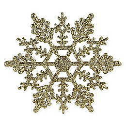 Northlight 24-Pack Snowflake Christmas Ornaments