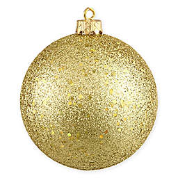 Northlight 8-Inch Holographic Glitter Christmas Ball Ornament