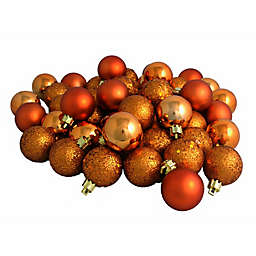 Northlight 96-Pack Christmas Ball Ornaments in Orange