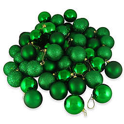 Northlight 24-Pack Christmas Ball Ornaments in Christmas Green