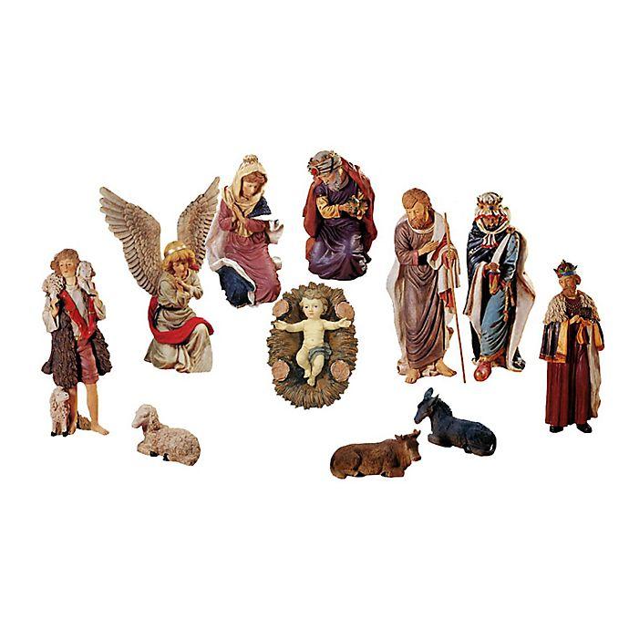 Lb International 12 Piece Outdoor Nativity Set
