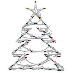 Hanging Christmas Ornaments Silhouette.Hanging Lighted Christmas Decorations Bed Bath Beyond