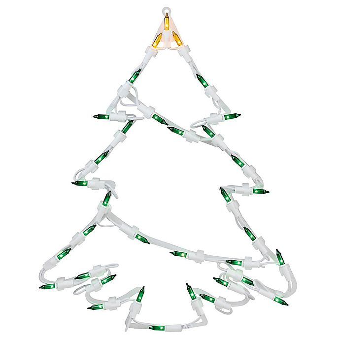Alternate image 1 for Northlight 15-Inch Lighted Tree Silhouette Christmas Decoration
