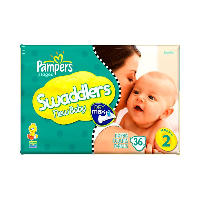 Alternate image 1 for 36-Count Pampers® Swaddlers Size 2 Jumbo Diapers