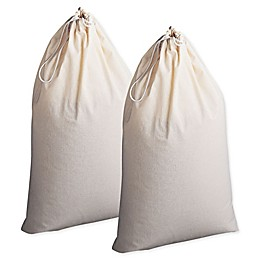 Household Essentials® Cotton Laundry Bags (Set of 2)