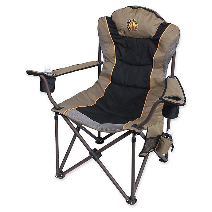 Alternate image 1 for Bushtec Adventure Charlie 440 Big Boy Canvas Chair